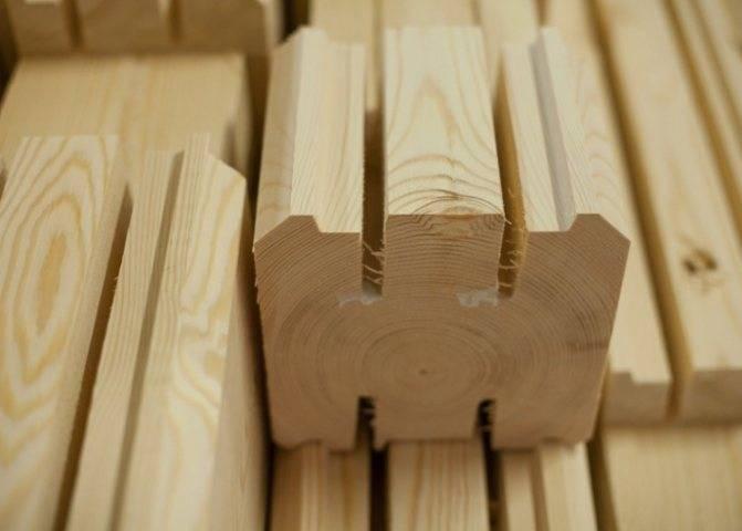 Профилированный брус: преимущества и недостатки использования