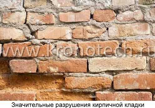 Ремонт кирпичной кладки стен отдельными местами: технология восстановления наружных, а также цена реставрации трещин и дефектов, обследование и способы укрепления