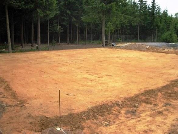 Прокладка канализации и проход через фундамент