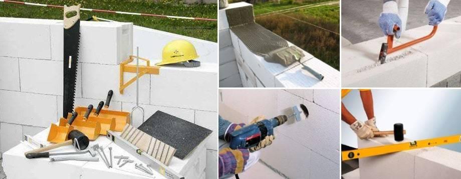Технология строительства домов из пеноблоков: видео-инструкция по кладке, постройке своими руками, фото