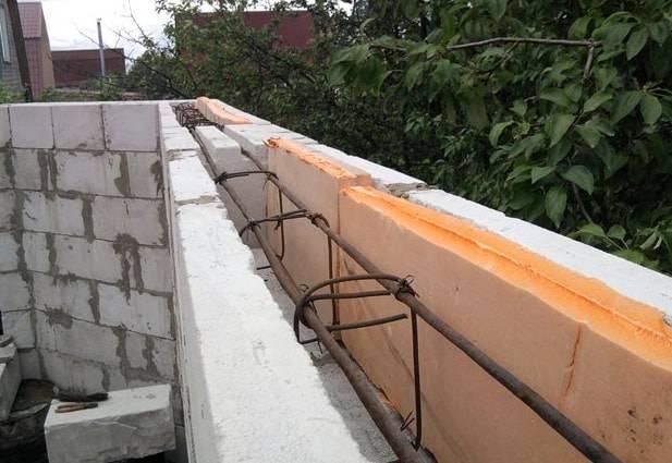 Армирование газобетонных блоков: основные разновидности армирования и их предназначение
