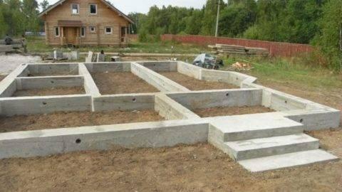 Какую марку бетона можно и нужно использовать для ленточного фундамента в частном доме