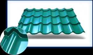 Особенности ондулина - полезный размер листа, нахлесты и ширина, технические характеристики