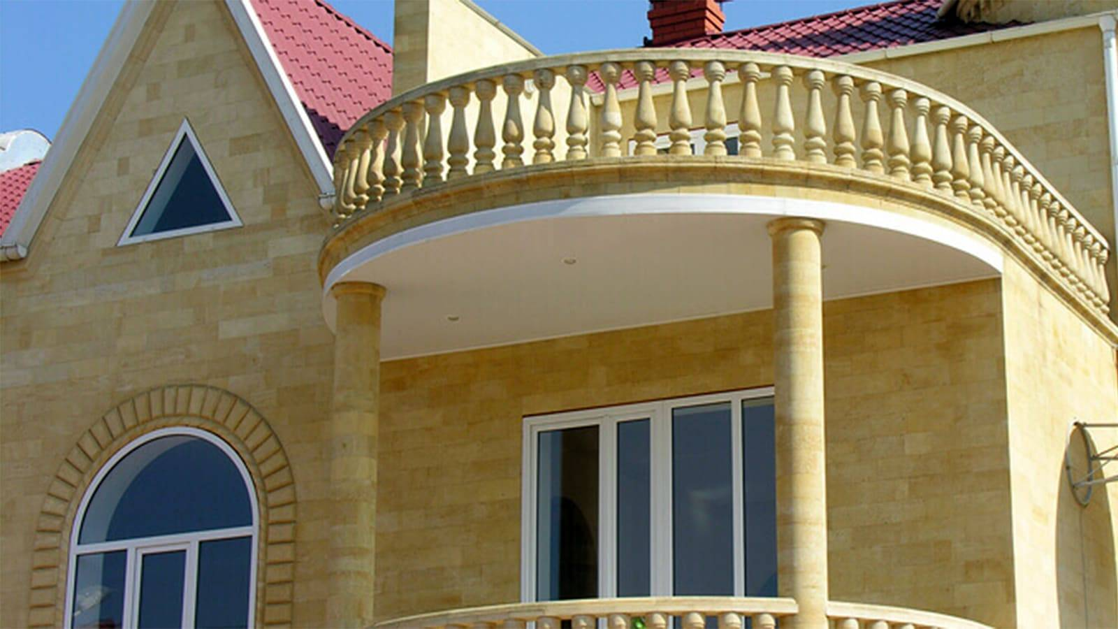 Чем выделяется дагестанский камень для фасада среди конкурентов + технология отделки и облицовки