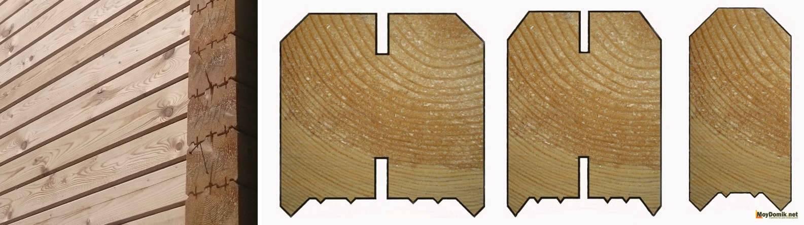Профилированный брус: плюсы и минусы дома из профилированного бруса - виды и размеры