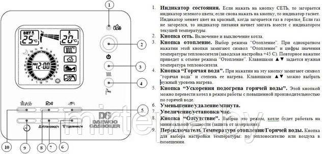 Котлы daewoo: инструкция, коды ошибок, взаимозаменяемость и ремонт
