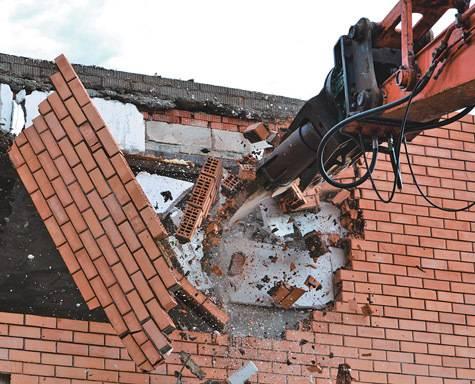 Демонтаж кирпичных стен: способы и рекомендации