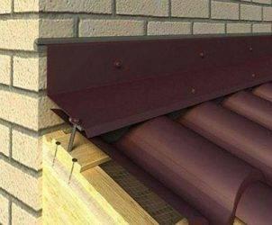 Планка примыкания верхняя и нижняя: монтаж узла примыкания кровли к стене здания или дымоходу