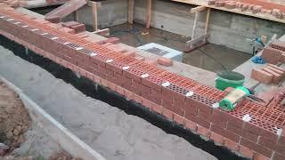 Дом из керамических блоков: кладка и характеристики керамических блоков | красная армия