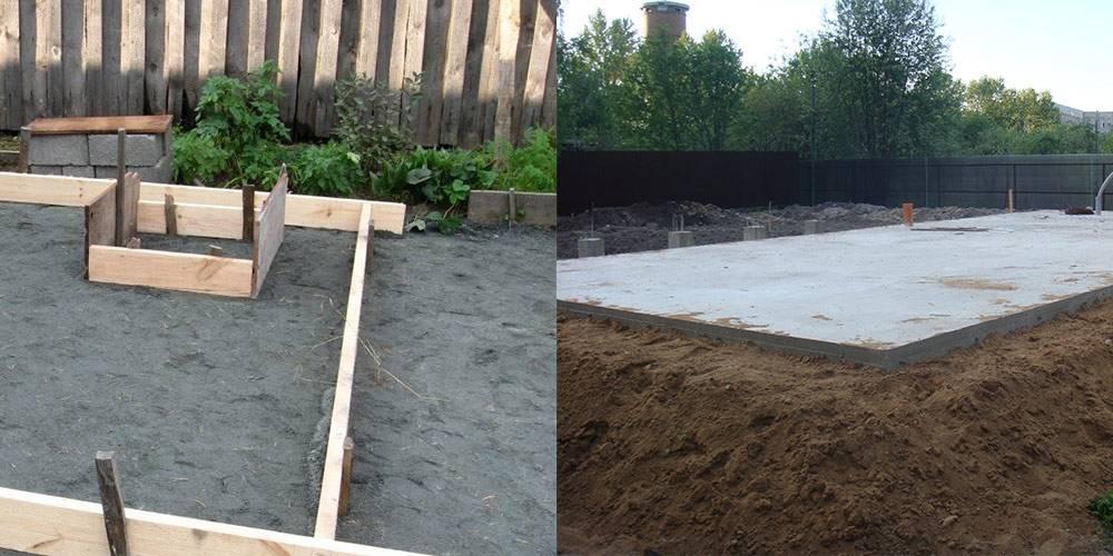 Ленточный или плитный фундамент. какой лучше?