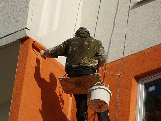 Фасадная силиконовая краска — свойства, состав, преимущества и недостатки