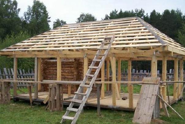 Проект четырехскатной крыши - кровля и крыша