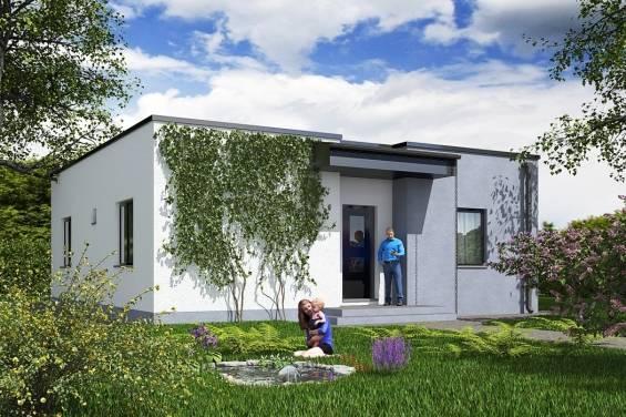 Дома с плоской крышей - 100 фото лучших вариантов конструкции и современного дизайна