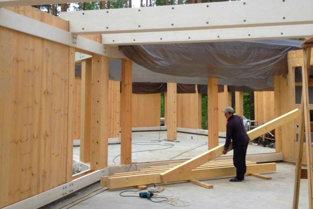 Каркасно-щитовая технология строительства дома – обзор