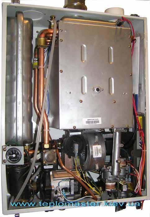 Настройка давления газа в котле дэу