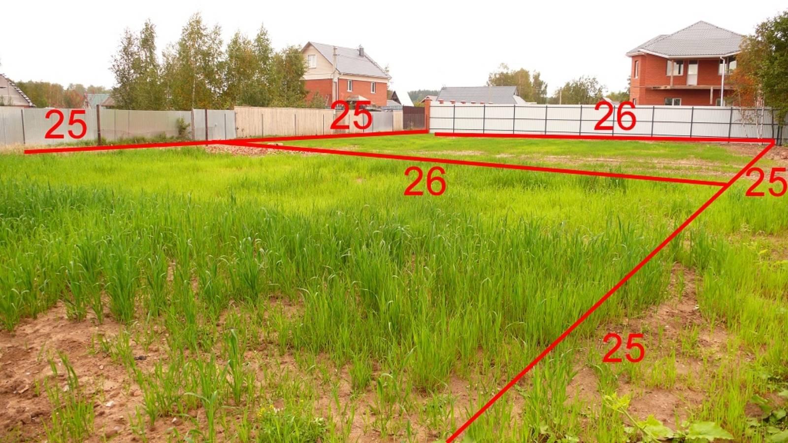 Как правильно определить границы земельного участка в россии?
