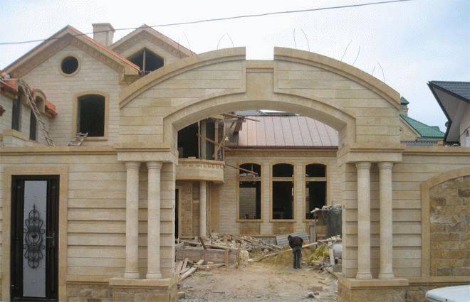 Дагестанский камень для фасада дома: техническая характеристика, способы укладки