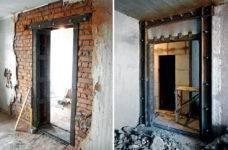 Как прорезать окно в кирпичной стене. как прорубить окно в кирпичной стене: процесс подготовки и монтаж