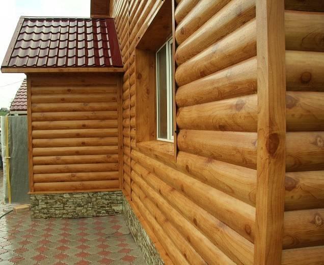 Блок-хаус, деревянный, металлический или виниловый. какой лучше выбрать? - профилированный брус