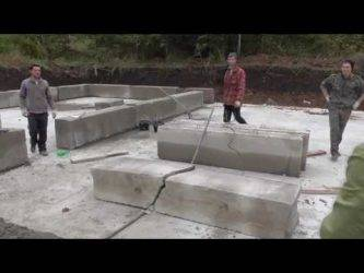 Как разбить бетонный блок своими руками: как и чем можно распилить ручным способом, какая спецтехника может понадобиться, чтобы расколоть