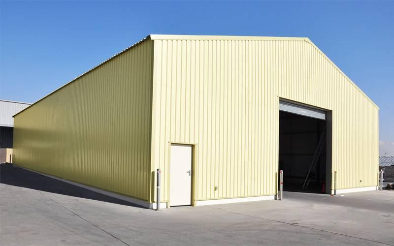 Строительство складов из cэндвич-панелей под ключ | стройангар