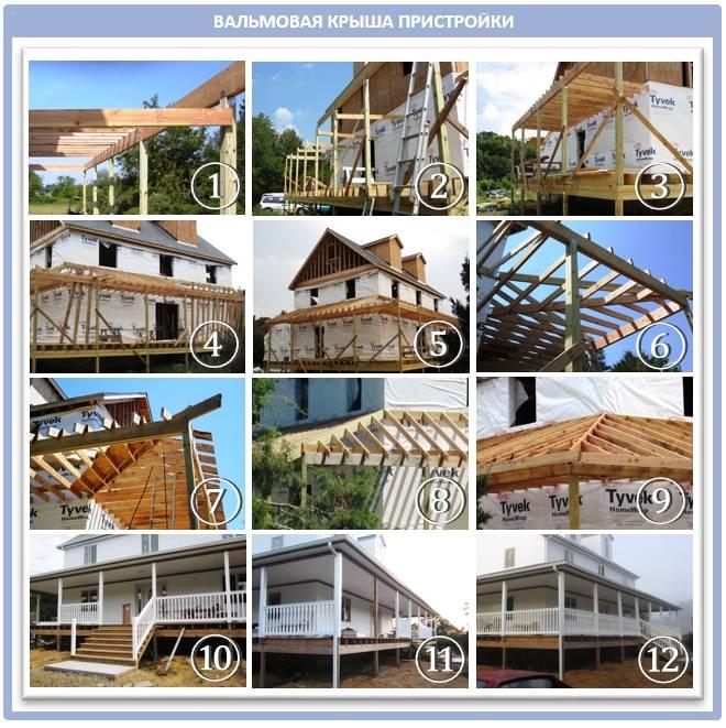 Как сделать пристройку к деревянному и другим домам своими руками недорого: пошаговая инструкция от фундамента к крыше