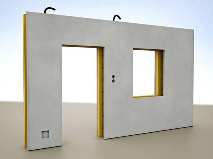Стеновые железобетонные панели: сборные, трехслойные сэндвич, монолитные и другие виды, какие бывают размеры (ширина, толщина, длина) плит для строительства