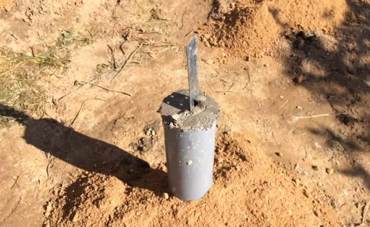 Фундамент из пластиковых труб своими руками: свайный и столбчатый фундамент из труб пвх, сваи