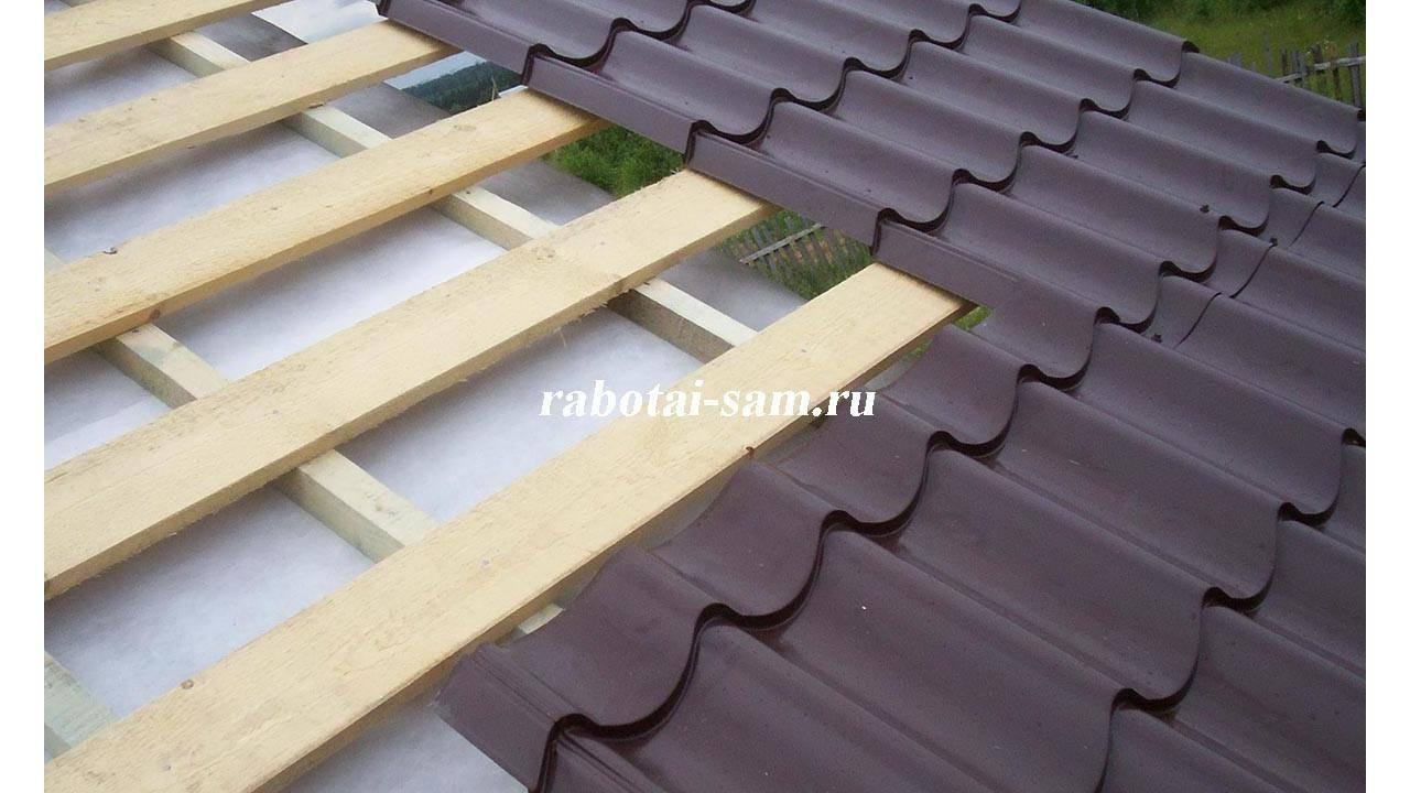 Как правильно покрыть крышу металлочерепицей своими руками – пошаговая инструкция