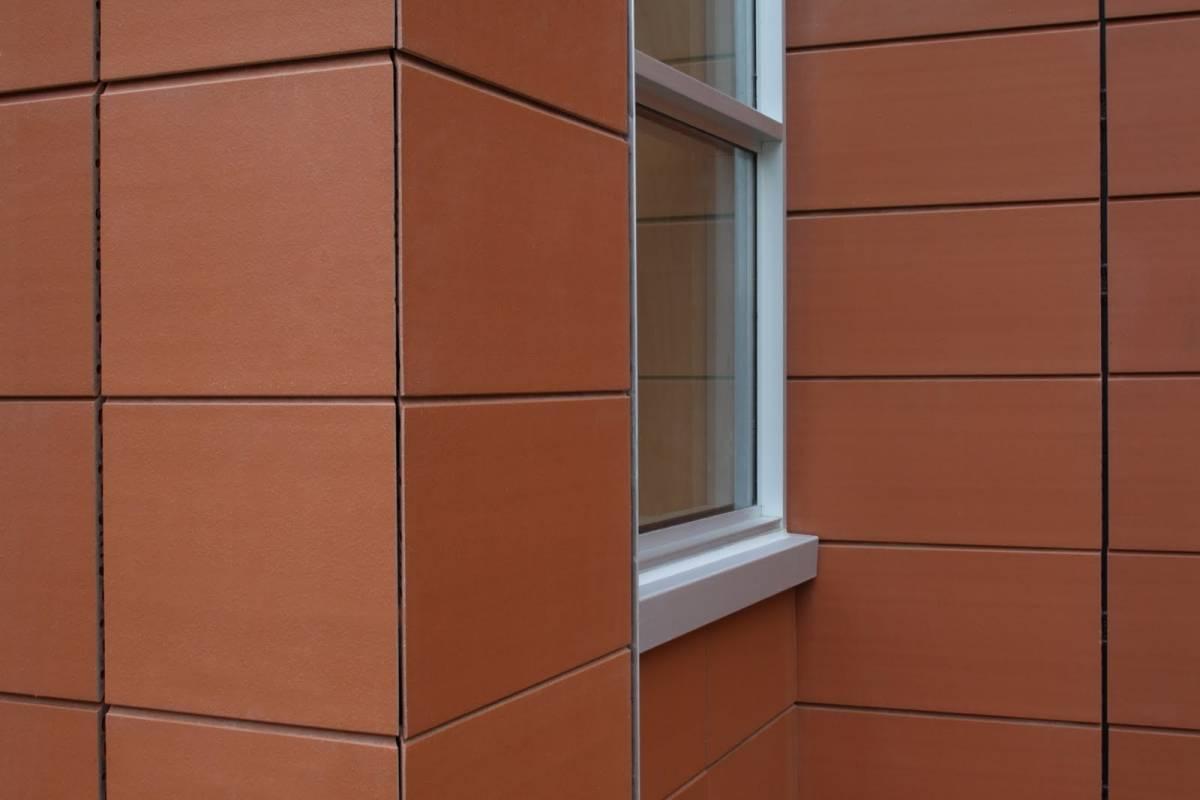 Клинкерные фасады