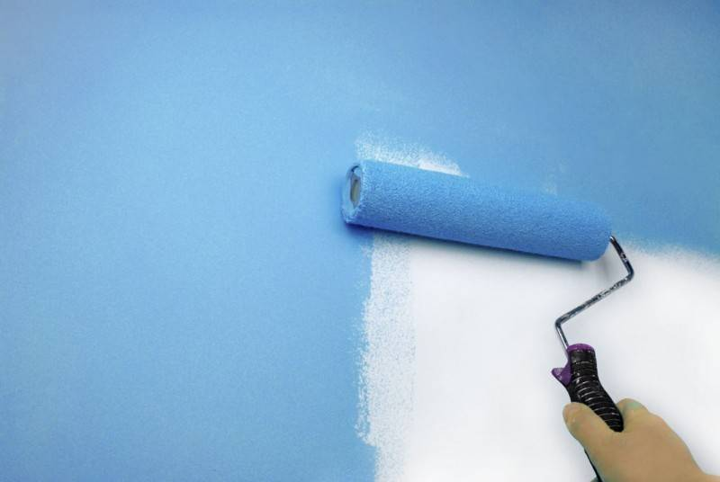 Окраска фасада водоэмульсионной краской  выбор состава и этапы работ - все про гипсокартон