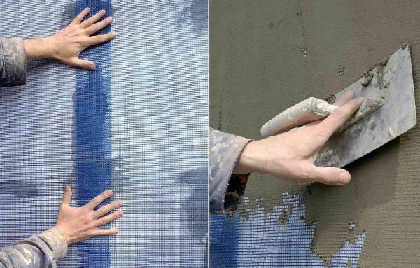 Виды фасадной декоративной штукатурки для наружных работ и технология отделки своими руками