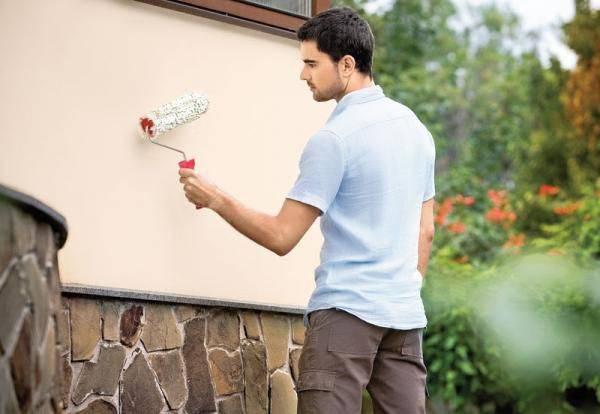 Технические характеристики фасадной силиконовой краски и особенности нанесения