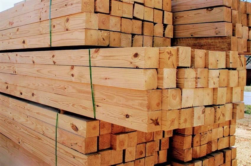 Виды бруса: характеристики и свойства строительного материала