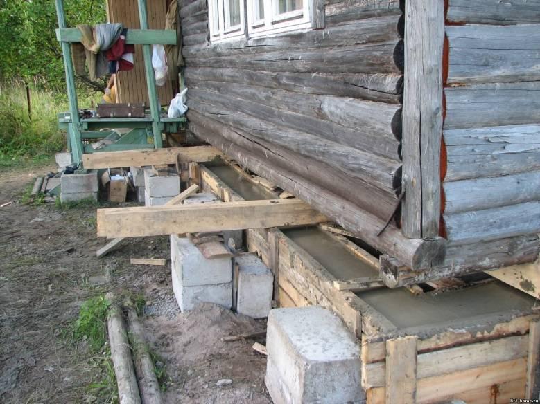 Ремонт фундамента: способы восстановления и замены под домом