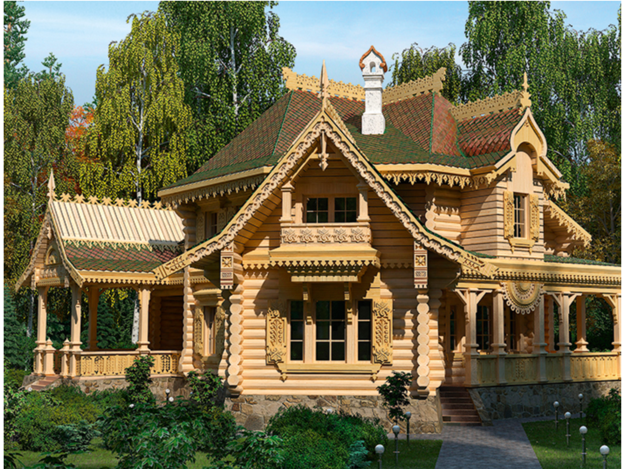 Строительство домов из профилированного бруса: проекты, цены, преимущества, этапы строительства