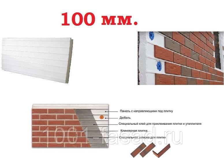Чем примечательны фасадные термопанели с клинкерной плиткой + подробная инструкция по монтажу