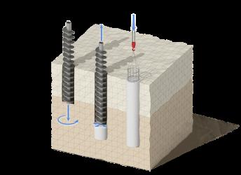 Бурение под фундамент: особенности процесса, преимущества и недостатки свайной основы, виды буровых свай