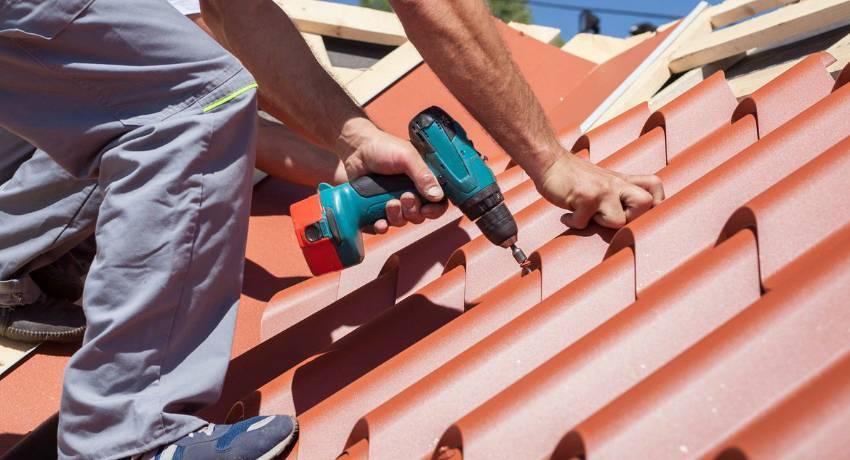 Использование металлочерепицы каскад, описание с фото