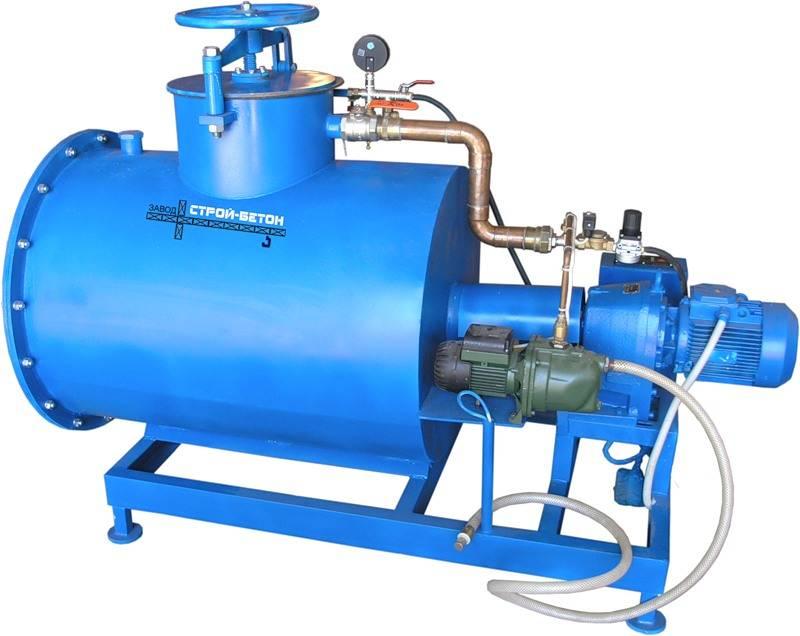 Какое оборудование используется для самостоятельного производства пеноблоков?