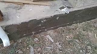 Штукатурка фундамента частного дома своими руками [47 фото], как оштукатурить цоколь декоративной штукатуркой видео под мрамор и камень