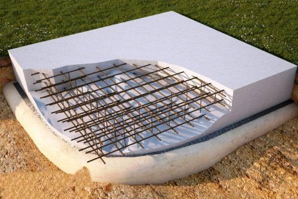 Какой фундамент лучше монолитная плита или ленточный
