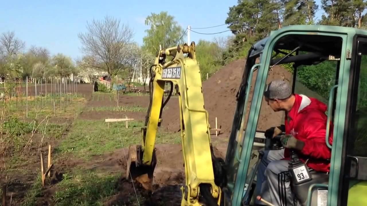 Как копать фундамент: вручную или при помощи спецтехники