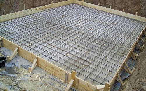 Заливка плиты на ленточный фундамент своими руками: технология
