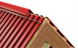 Конек кровли: устройство кровельного конька, монтаж коньковой крыши, установка на здании, как закрепить