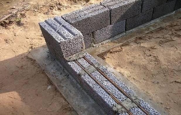 Кладка керамзитобетонных блоков своими руками: расчет количества и расход цемента, толщина стен, виды укладки, стоимость, видео