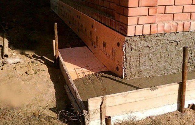 Как утеплить фундамент дома снаружи своими руками, чем лучше производить теплоизоляцию
