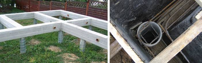 Свайный фундамент под дом из пеноблоков: основные особенности