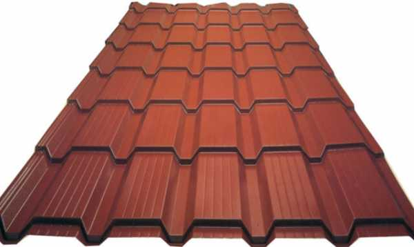 Размеры листа профнастила для крыши: длина, ширина, высота волны