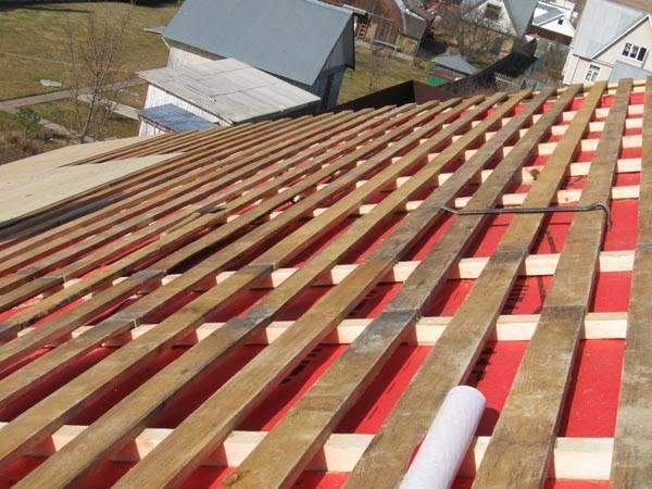 Двускатная крыша со стропильной системой под профнастил: технология сооружения и нюансы монтажного процесса